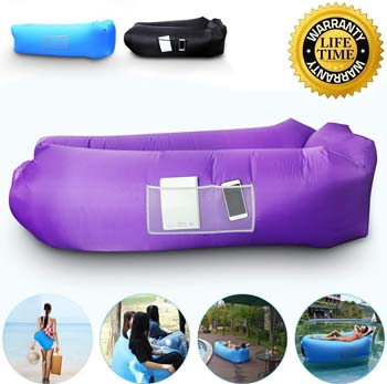 9. Anglink Outdoor Inflatable Lounger Couch