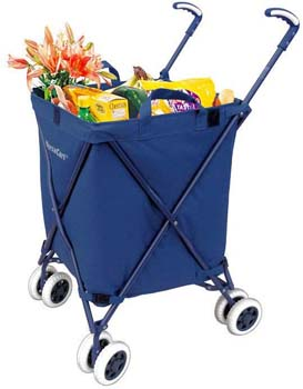 2. Versacat the Original VersaCart Transit Folding Shopping and Utility Cart