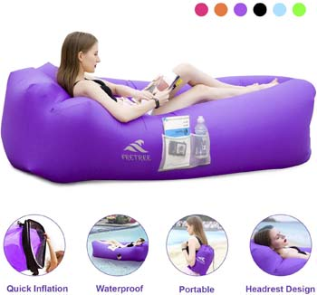 6. FRETREE Inflatable Lounger Air Sofa Hammock