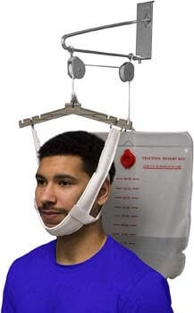 2. OTC Cervical Traction Kit, Neck Pain Relief, Vertebrae Disk Herniation, Complete Over Door Setup