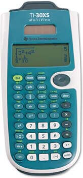 2. Texas Instruments TI-30XS MultiView Scientific Calculator