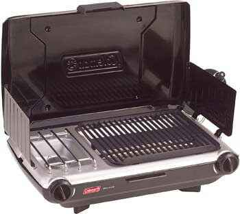 6. Coleman 2 Burner Grill Stove Combo 2000020929