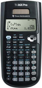 1: Texas Instruments TI-36X Pro Engineering/Scientific Calculator