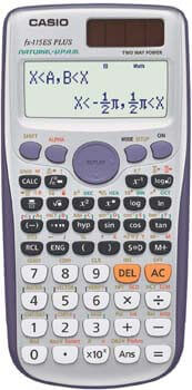 4. Casio fx-115ES PLUS Engineering/Scientific Calculator