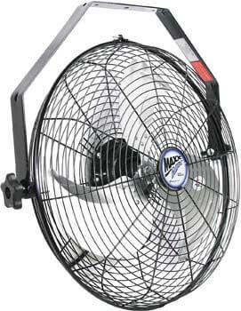 1. Maxx Air Wall Mount Fan, Commercial Grade Fan