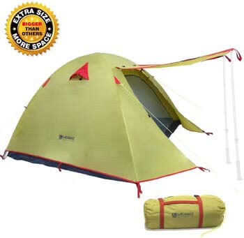 4. Weanas Professional Backpacking Tent 2 3 4 Person 3 Season