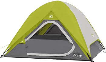 10. Core 3 Person Instant Dome Tent - 7' x 7'