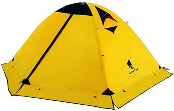 7. GEERTOP Backpacking Tent for 2 Person 4 Season Camping Tent