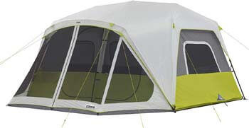 7. Core 10 Person Instant Cabin Tent with Screen Room - 14.5' x 14'