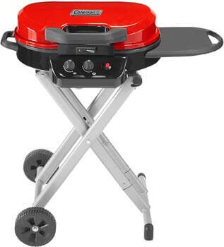 3. Coleman RoadTrip 225 Portable Stand-Up Propane Grill