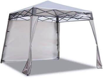 6. EzyFast Elegant Pop up Beach Shelter, Compact Instant Canopy Tent
