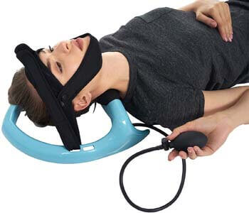 8. Allsett Health Posture Neck Exercising Cervical Spine Hydrator Pump