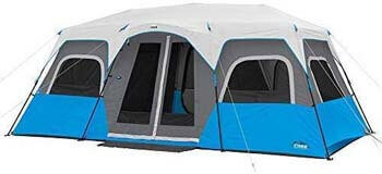 4. Core Lighted 12 Person Instant Cabin Tent - 18' x 10'
