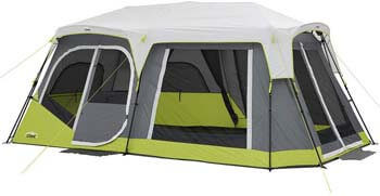 3. Core Two Room 12 Person Instant Cabin Tent with Side Entrance