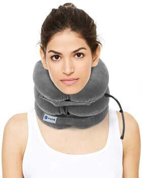 3. POON Cervical Neck Traction Device & Collar Brace