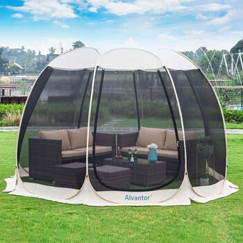 1. Alvantor Screen House Room Outdoor Camping Tent Canopy Gazebos 6-15 Person