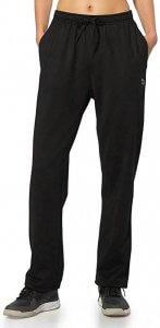 BALEAF Women's Running Thermal Fleece Pants Zipper Pocket Athletic Joggers Sweatpants