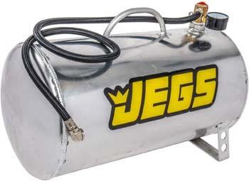 4. JEGS 81001 5 gal. Horizontal Portable Aluminum Air Tank, 19