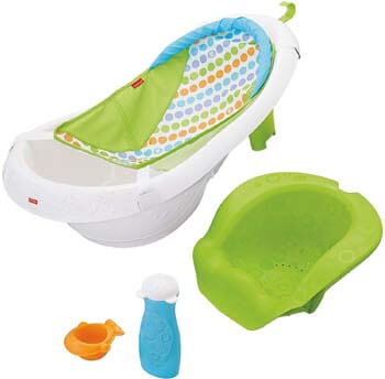 3. Fisher-Price 4-in-1 Sling 'n Seat Tub, New Version