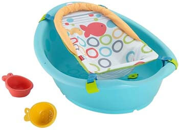 7. Fisher-Price Rinse 'n Grow Tub