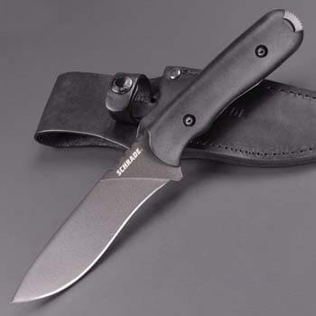 9. Schrade SCHF42 Frontier 10in Steel Full Tang Fixed Blade Knife