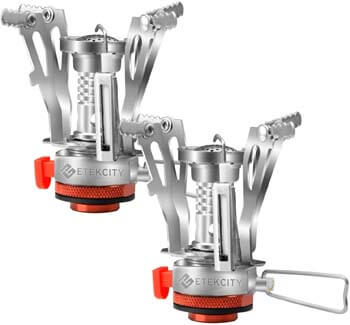 10. Etekcity Ultralight Portable Outdoor Backpacking Camping Stove