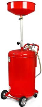 9. XtremepowerUS 20 Gallon Portable Waste Oil Drain Tank