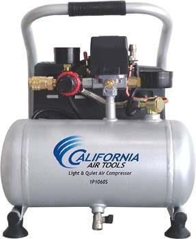 8. California Air Tools CAT-1P1060S Light & Quiet Portable Air Compressor, Silver