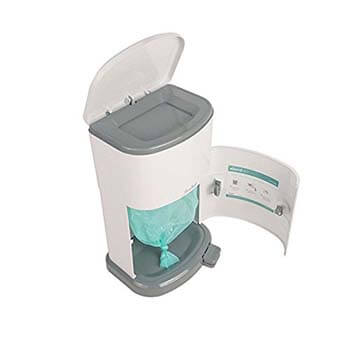 8. Janibell Akord Slim Adult Diaper Pail- Odor Free Model M280DA