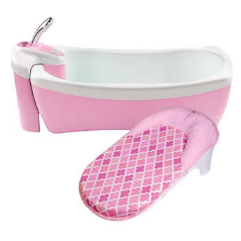 5. Summer Lil Luxuries Whirlpool, Bubbling Spa & Shower, Pink