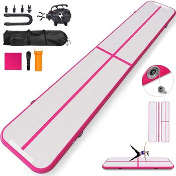 5. Happybuy 10ft 13ft 17ft 20ft 30ft Air Track 8 inches Airtrack 4 inches Air Track Tumbling Mat