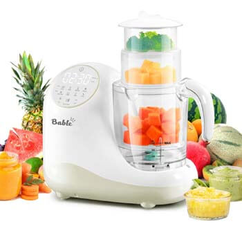 8. BABLE Baby Food Maker for Infants and Toddlers, Bable All-in-1 Food Processor Mills Machine