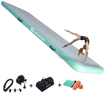 3. AKSPORT Air Track 10ft 13ft 16ft 20ft Airtrack Gymnastics Tumbling Mat