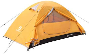 3. Bessport Camping Tent 1 and 2 Person Lightweight Backpacking Tent