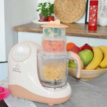 3. Homia Baby Food Maker Chopper Grinder - Mills and Steamer 8 in 1 Processor for Toddlers