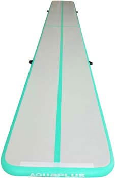 2. Aqua Plus Inflatable Air Track Tumbling Mat