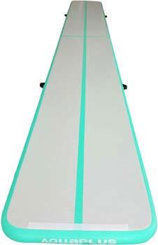 2. Aqua Plus Inflatable Air Track Tumbling Mat
