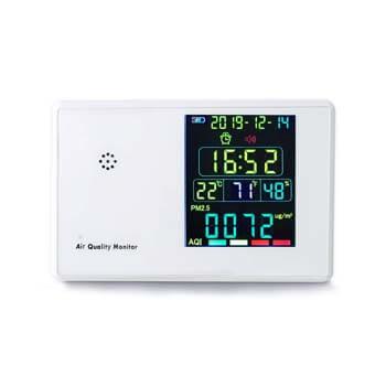 7. MIQIKO Air Quality Monitor Indoor Formaldehyde Air Detector