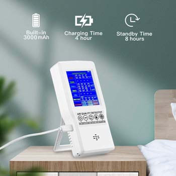 5. Air Quality Monitor BIAOLING Accurate Tester