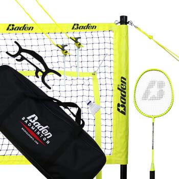 10. Baden Champions Badminton Set