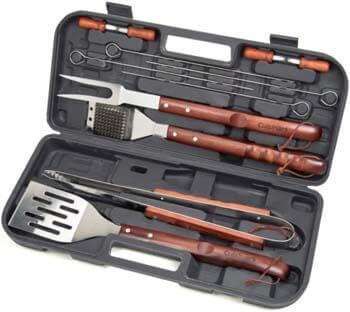 1. Cuisinart CGS-W13 Wooden Handle Tool Set (13-Piece)