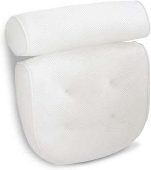 8. Viventive Luxurious Bath Pillow Non-Slip and Extra Thick