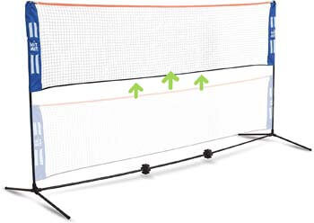 2. Hit Mit Adjustable Height Portable Badminton Net Set