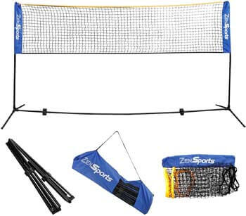 5. ZENY Portable Badminton Net Set