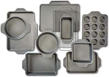 6. All-Clad J257SA64 Pro-Release bakeware set