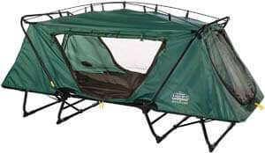 2. Kamp-Rite Oversize Tent Cot Folding Outdoor Camping Hiking Sleeping Bed