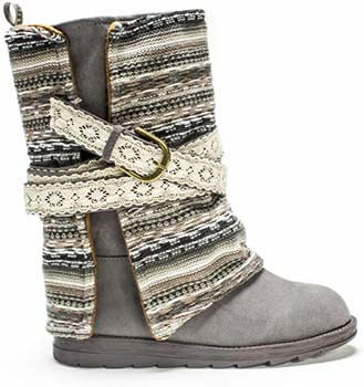 5. Muk Luks Women's Nikki Belt Wrapped Boot
