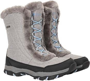 9. Mountain Warehouse Ohio Women's Winter Snow Boots - Ladies Warm Shoes