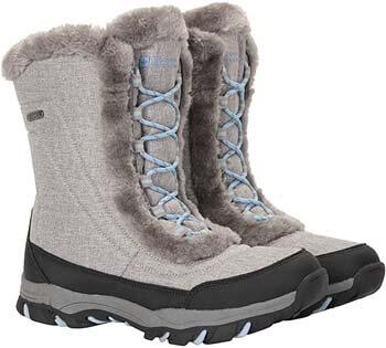 9. Mountain Warehouse Ohio Women's Winter Snow Boots - Ladies Warm Shoes