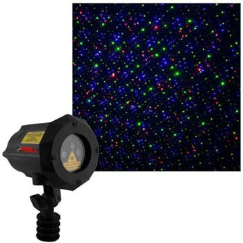 7. Moving Firefly LEDMALL RGB Outdoor Garden Laser Christmas Lights